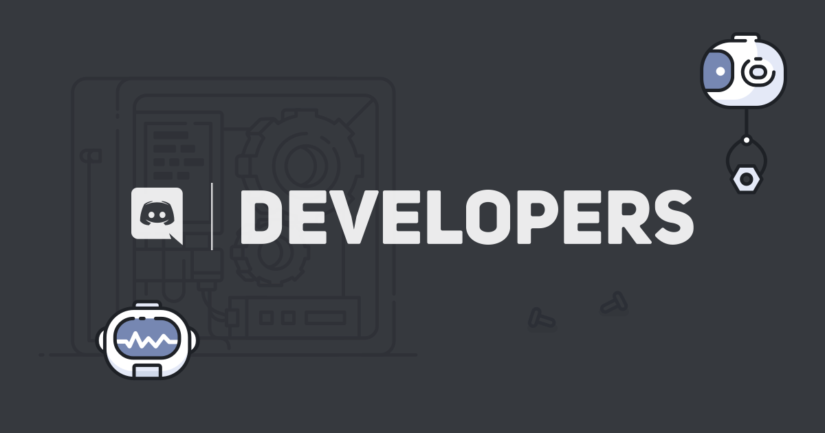 Discord Developer Portal — Documentation — Intro